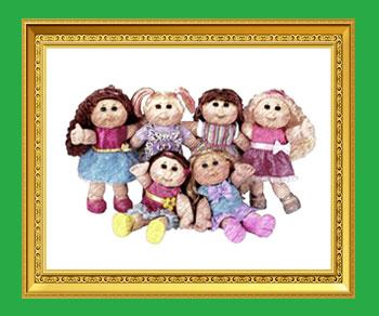 キャベツ人形