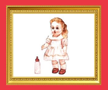 ミルク飲み人形